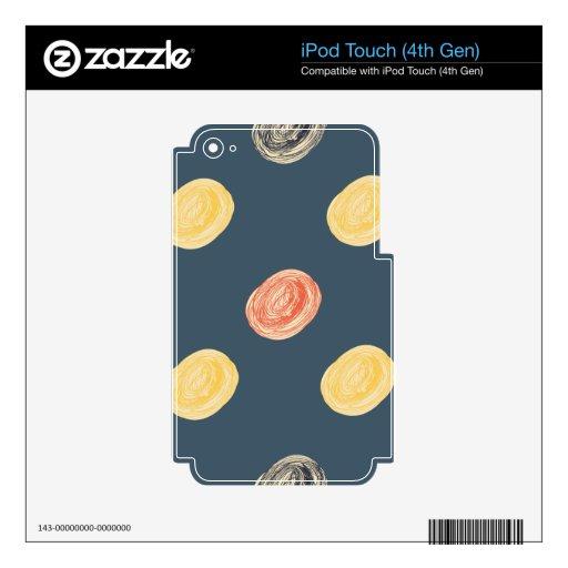 puntos iPod touch 4G skin