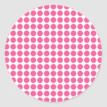 Puntos medios del chicle pegatinas redondas