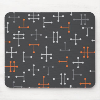 Puntos - Mousepad abstracto moderno retro