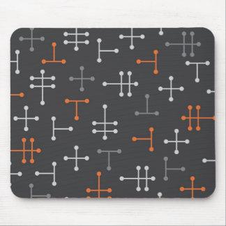 Puntos - Mousepad abstracto moderno retro