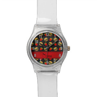 Puntos negros conocidos personalizados de las reloj de mano