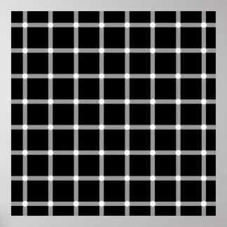 ¿Puntos negros o puntos blancos? Impresiones