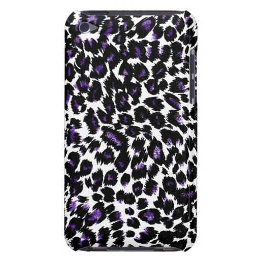 Puntos púrpuras del leopardo Case-Mate iPod touch carcasa
