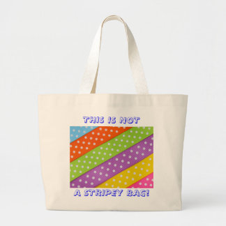 Puntos rayados bolsas lienzo
