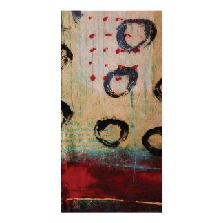 Puntos rojos y poster perfecto Painterly de los Perfect Poster