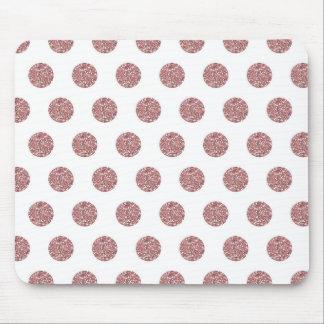 Puntos rosados atractivos de Poka Mouse Pads
