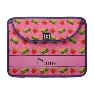 Puntos rosados conocidos personalizados de las fundas macbook pro