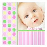 Puntos rosados y puntos anuncios personalizados
