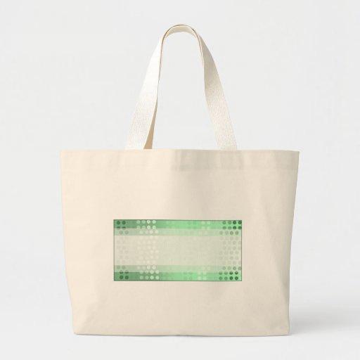 Puntos verdes bolsas de mano