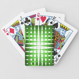 Puntos verdes baraja cartas de poker