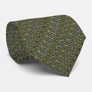 Puntos W (aceituna) Corbatas Personalizadas