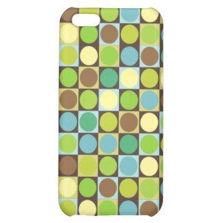 Puntos y caso retros del iPhone 4 de los cuadrados