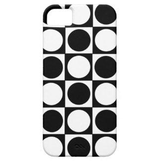 """Puntos y cuadrados (""""identificación,"""" iPhone 5) iPhone 5 Funda"""