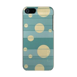 Puntos y rayas en WinterGreen Carcasa De Iphone 5 Incipio Feather Shine