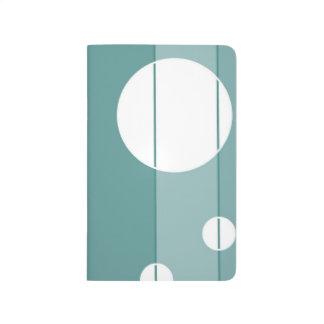 Puntos y rayas en WinterGreen Cuaderno Grapado