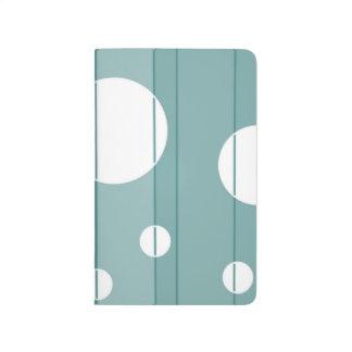 Puntos y rayas en WinterGreen Cuadernos Grapados