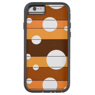 Puntos y rayas en WinterGreen Funda Tough Xtreme iPhone 6