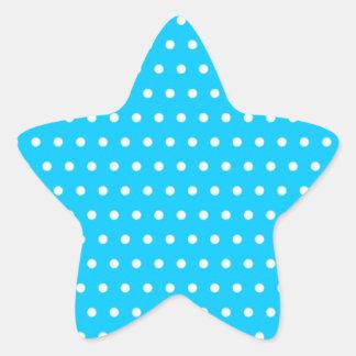 puntúa baby azul dots (varios productos elegido) pegatina en forma de estrella