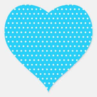 puntúa muster puntuado tocan ligeramente tocado li pegatina de corazón personalizadas