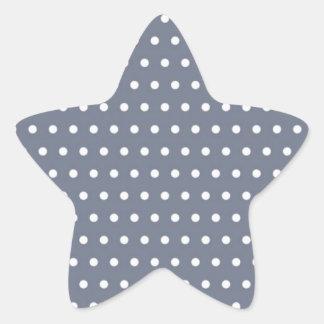 puntúa muster puntuado tocan ligeramente tocado li pegatina en forma de estrella