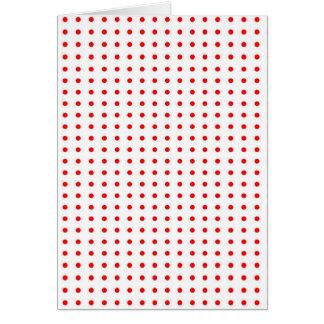 puntúa punteado polka dots weihnachten rojo stern felicitación