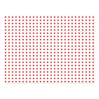puntúa punteado polka dots weihnachten rojo stern postales
