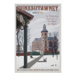 Punxsutawney, Pennsylvania Póster