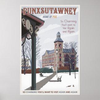 Punxsutawney, Pennsylvania Poster