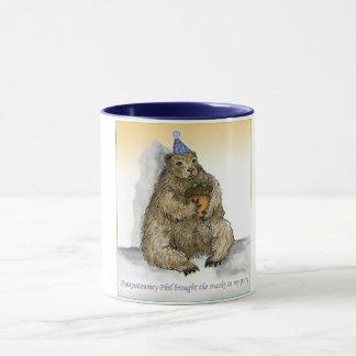Punxsutawney Phil Brought the Snacks to the Party Mug