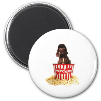 Pup-corn anyone? 2 inch round magnet