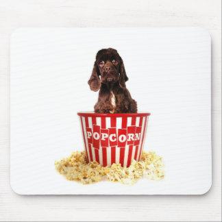 Pup-corn anyone? mouse pad