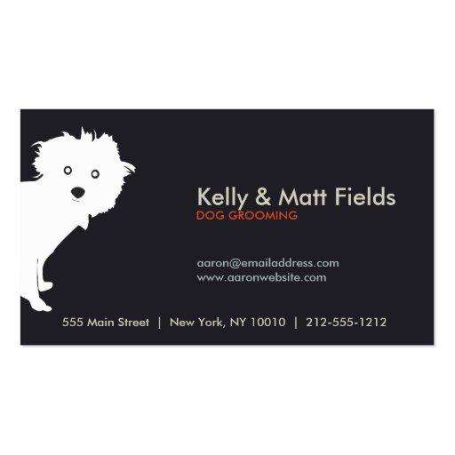PUP (dark) Business Card