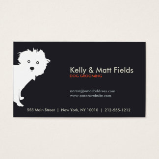PUP (dark) Business Card