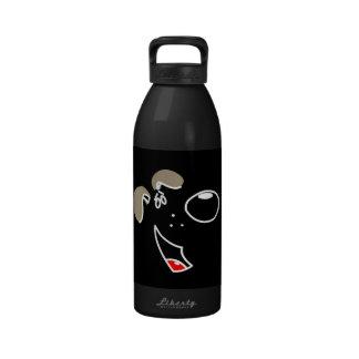 Pup Face Reusable Water Bottles