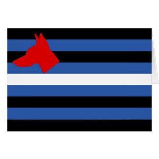 Pup Flag Card