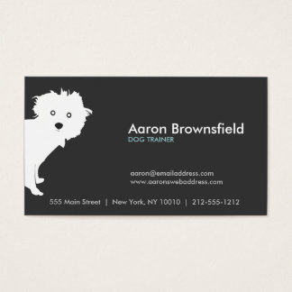 PUP (gray) Business Card