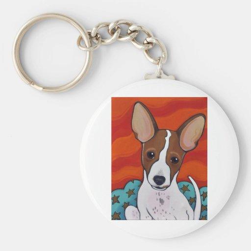 Pup Key Chain