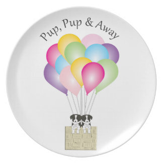 Pup Pup & Away Plate