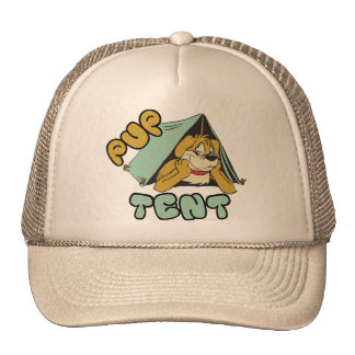 Pup Tent Camping Trucker Hat