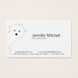 PUP (white) Business Card