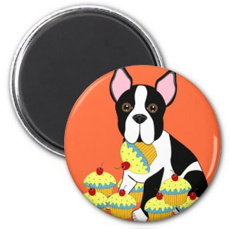Pupcakes magnet