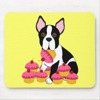 Pupcakes mousepad