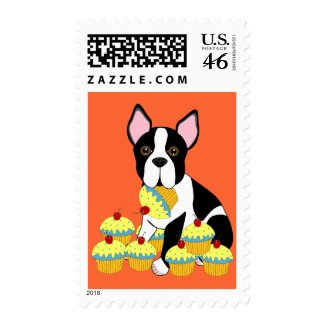 Pupcakes stamp