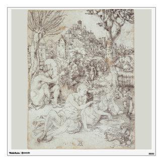 Pupila Augusta Drawing by Albrecht Durer Wall Graphic