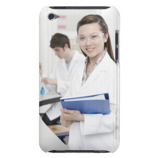Pupils in a science lesson. iPod touch cases