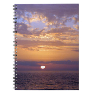 Puple Sunset Notebook