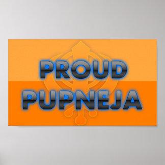 Pupneja orgulloso orgullo de Pupneja Posters