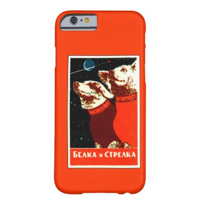 Pupniks Belka & Strelka Soviet Space Dogs iPhone 6 iPhone 6 Case