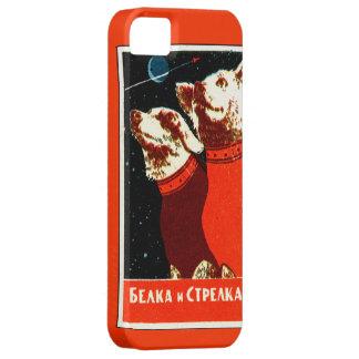 Pupniks Belka y el espacio soviético de Strelka pe iPhone 5 Case-Mate Cobertura