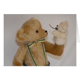 Puppet Bear Card